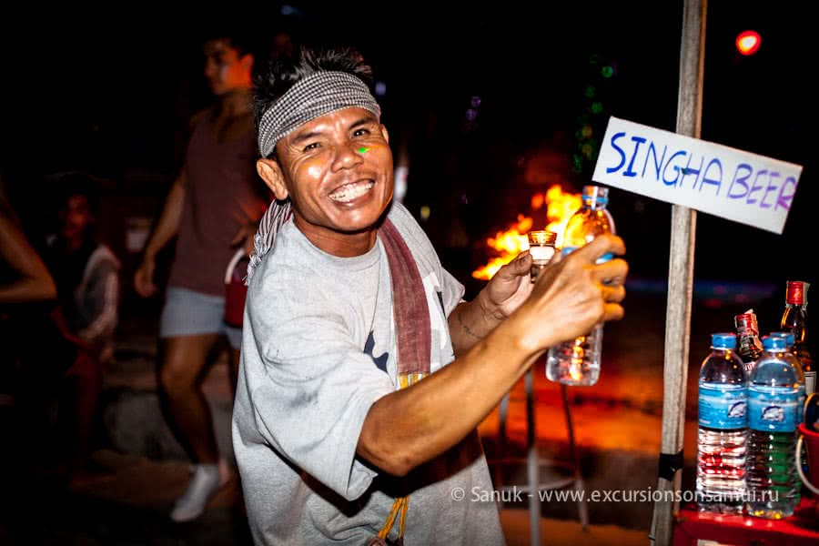 Parties at Koh Phangan: Full Moon, Half Moon, Black Moon, Jungle Experience, Koh Samui, Thailand