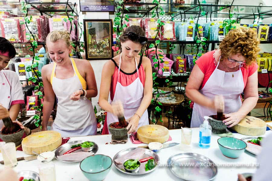 SITCA cooking classes, Koh Samui, Thailand