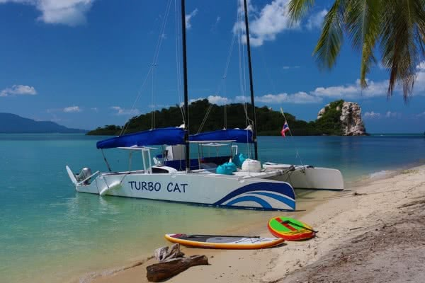 Turbo Cat catamaran, Koh Samui, Thailand