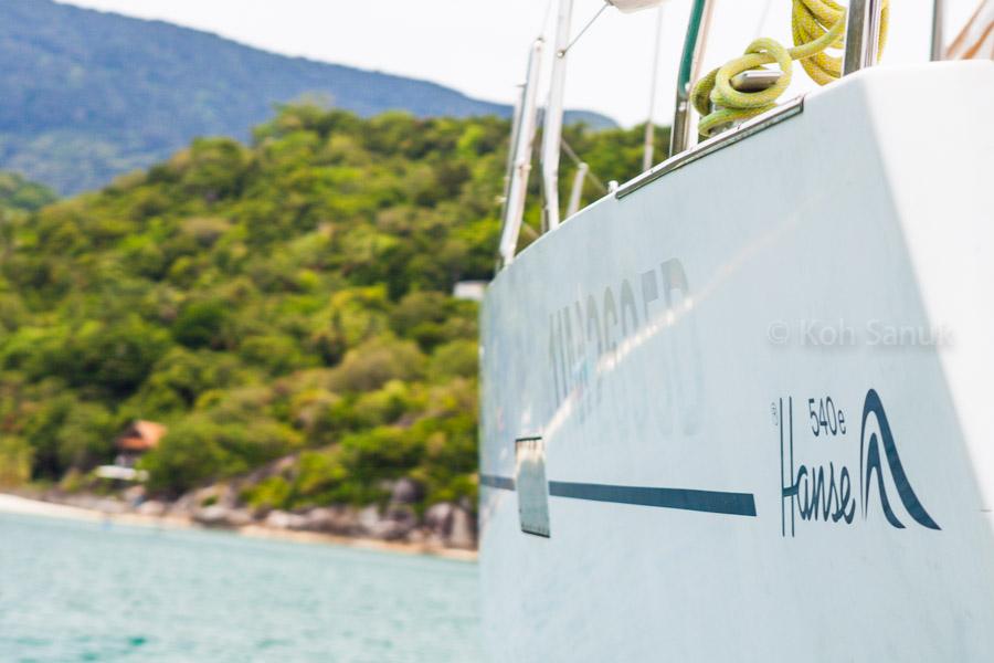 """Sailing yacht """"Aello"""" (A-class), Koh Samui, Thailand"""