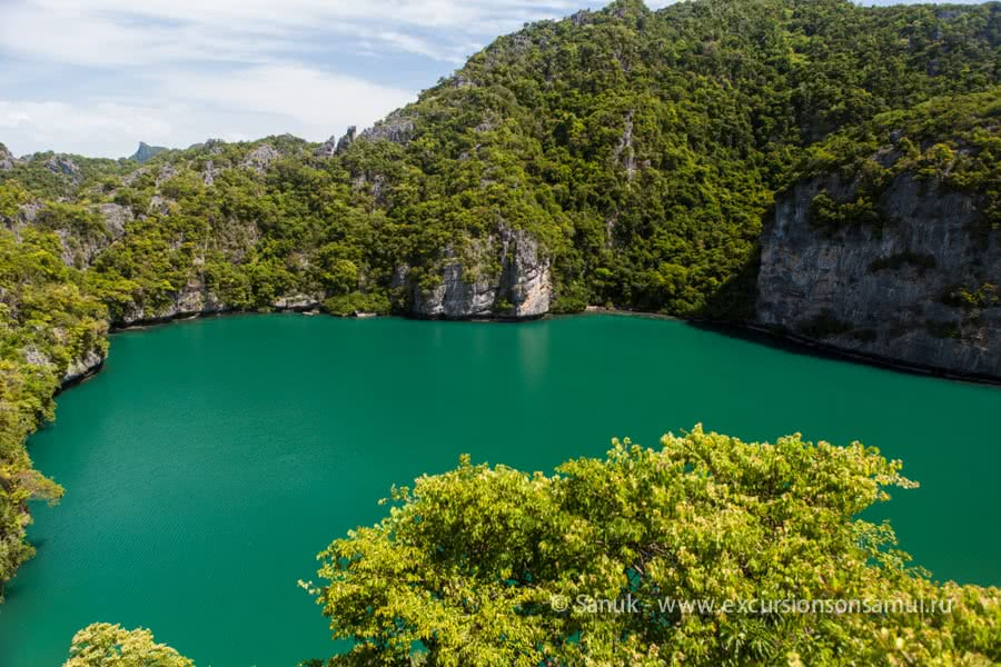 5-star tour to Angthong, Koh Samui, Thailand