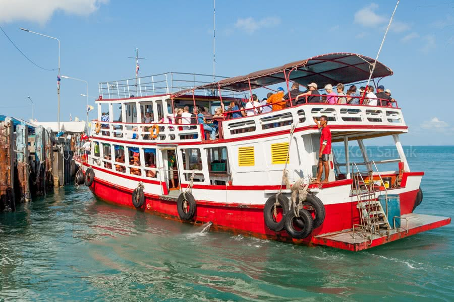 Full day trip to Angthong marine park by Big boat, Koh Samui, Thailand