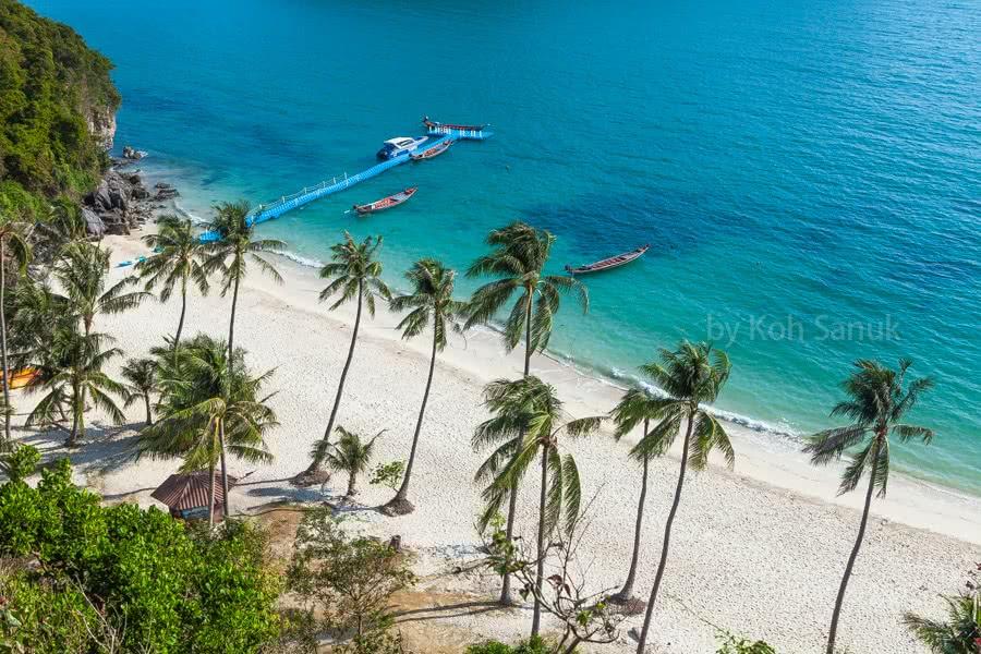 VIP tour to Angthong Marine Park, Koh Samui, Thailand