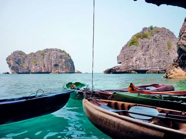 3 day cruise to Angthong from Koh Tao, Koh Samui, Thailand