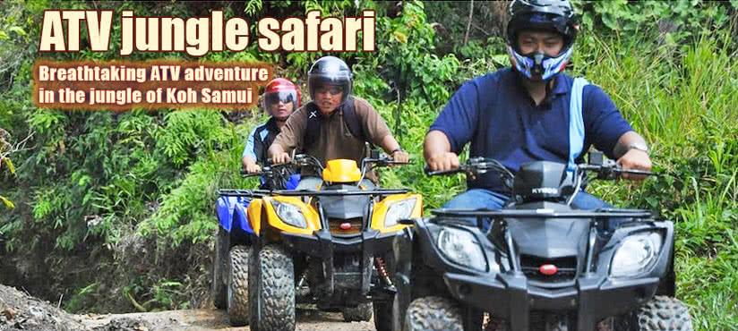 ATV jungle safari, Koh Samui