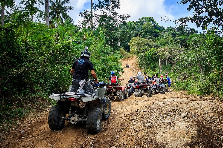 ATV jungle safari, Koh Samui, Thailand