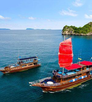 Blue ans Red Dragon yachts, Koh Samui