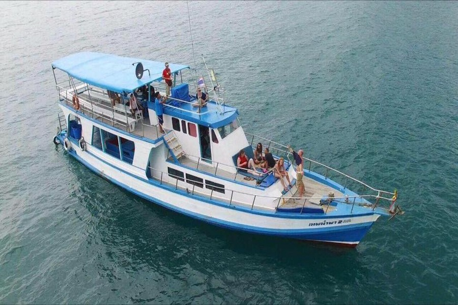 Big boat trip around Koh Samui, Koh Samui, Thailand