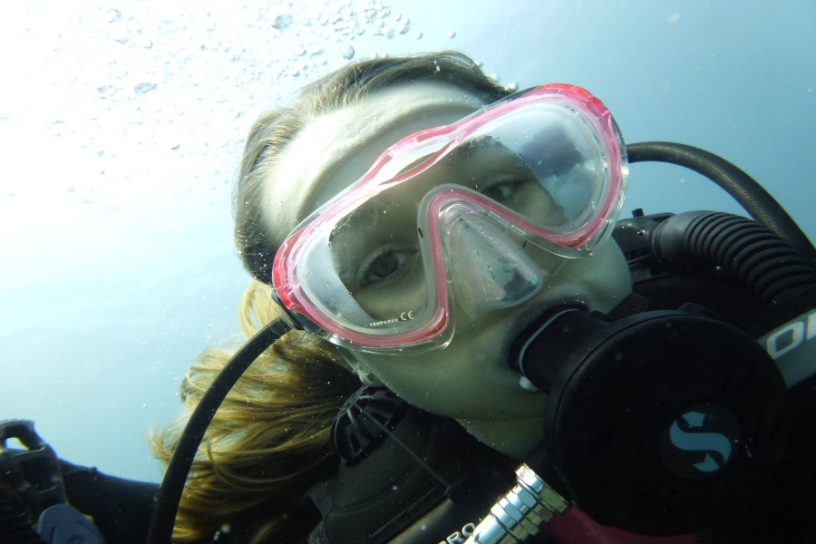 Diving and snorkeling by catamaran, Koh Samui, Thailand