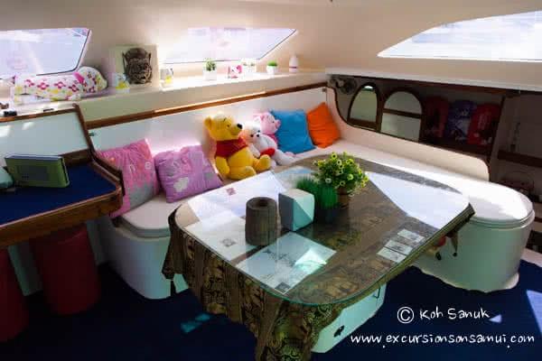 """Sailing catamaran """"Vickey"""", Koh Samui, Thailand"""
