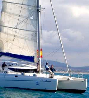 Wisdom catamaran, Koh Samui