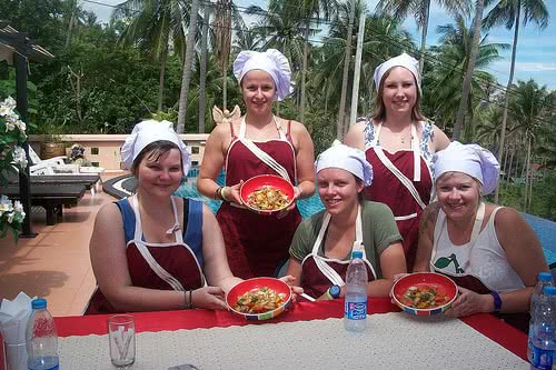 Chanita Thai Cooking Class, Koh Samui, Thailand