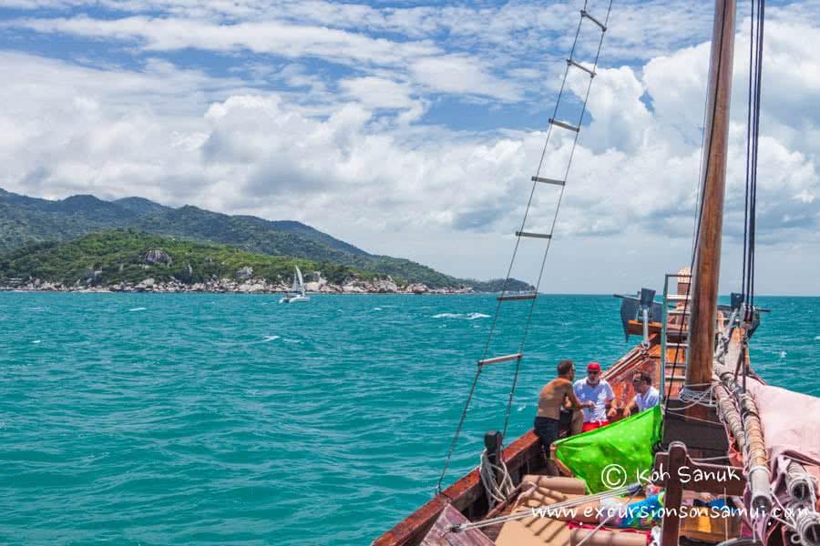 Cruises by Chantara junk boat, Koh Samui, Thailand