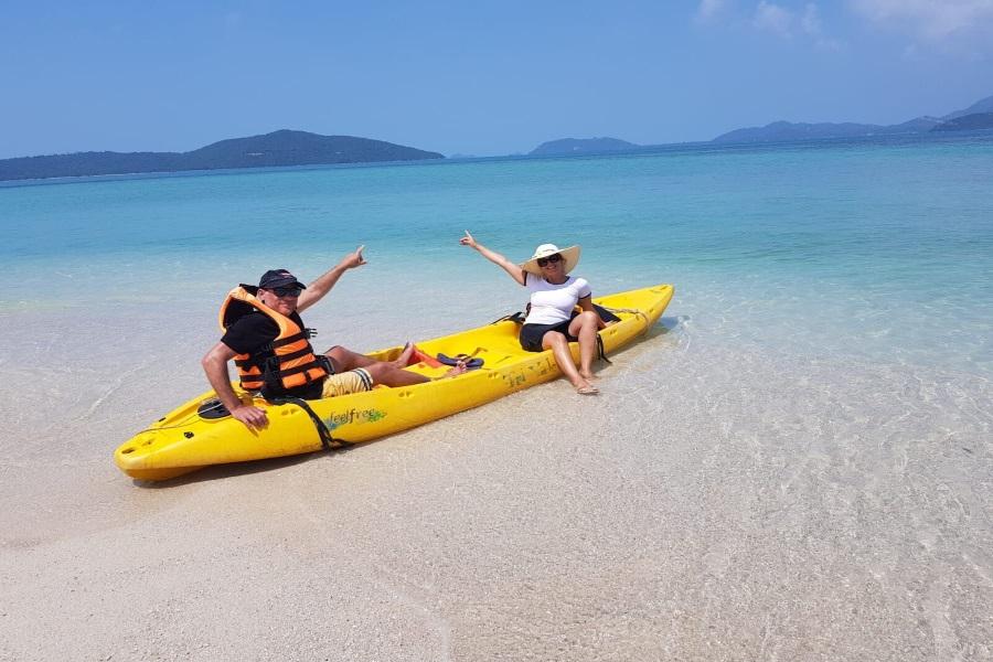 Coral Reef Snorkeling tour to Koh Tan, Koh Samui, Thailand
