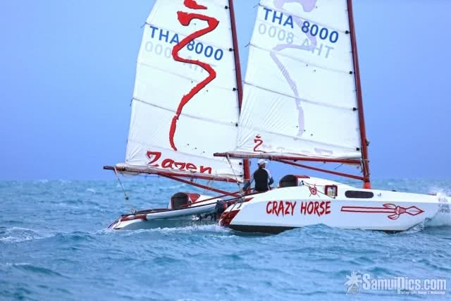 "Sailing charters by ""Crazy Horse"", Koh Samui, Thailand"
