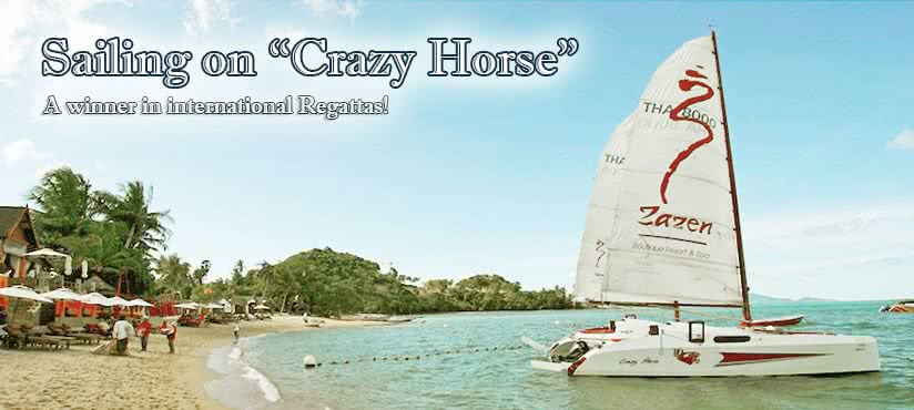 Crazy horse yacht, Koh Samui