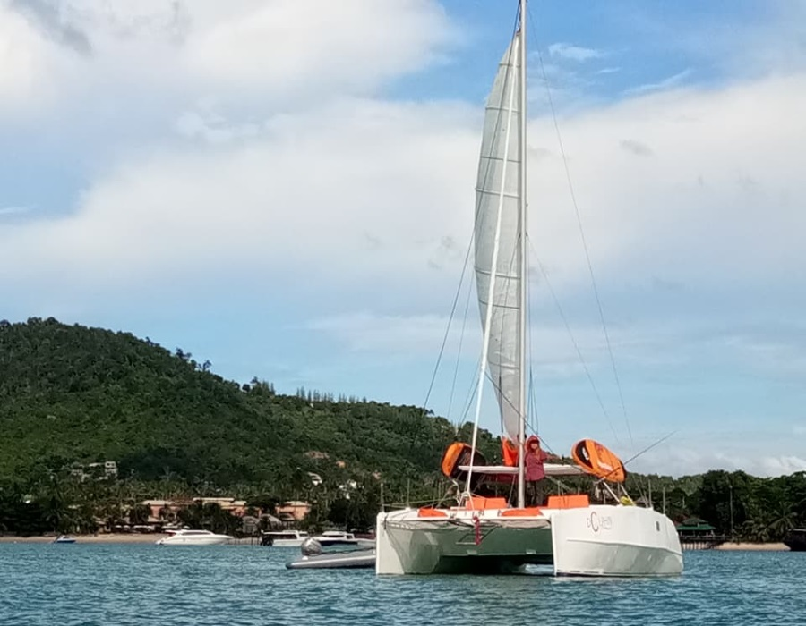 Catamaran Mad Dog, Koh Samui, Thailand