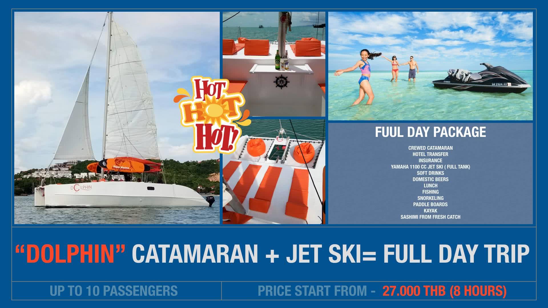 Catamaran + JetSki