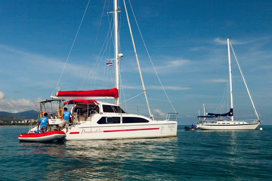 "Sailing charters by ""Dreamcatcher"", Koh Samui, Thailand"