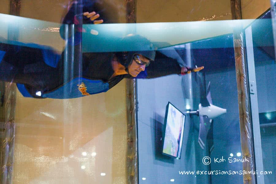 Indoor Skydiving, Koh Samui, Thailand
