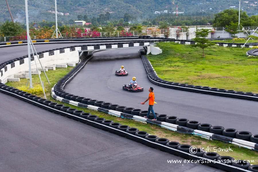 Kart racing, Koh Samui, Thailand