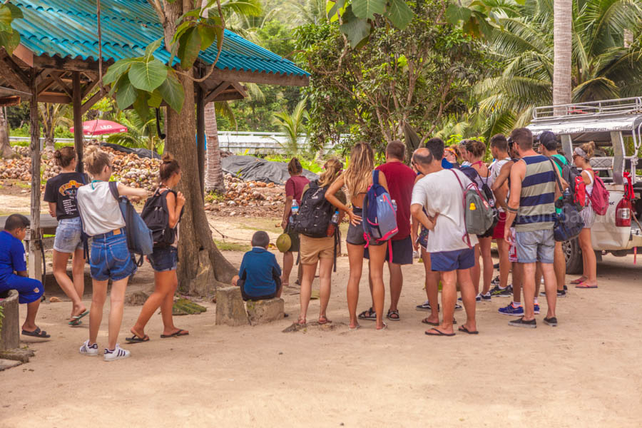 Eco-nature full day safari at Koh Phangan, Koh Samui, Thailand