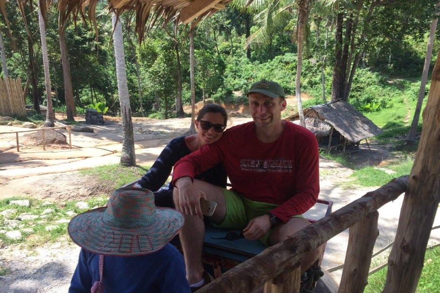 One day safari adventure from Koh Phangan, Koh Samui, Thailand