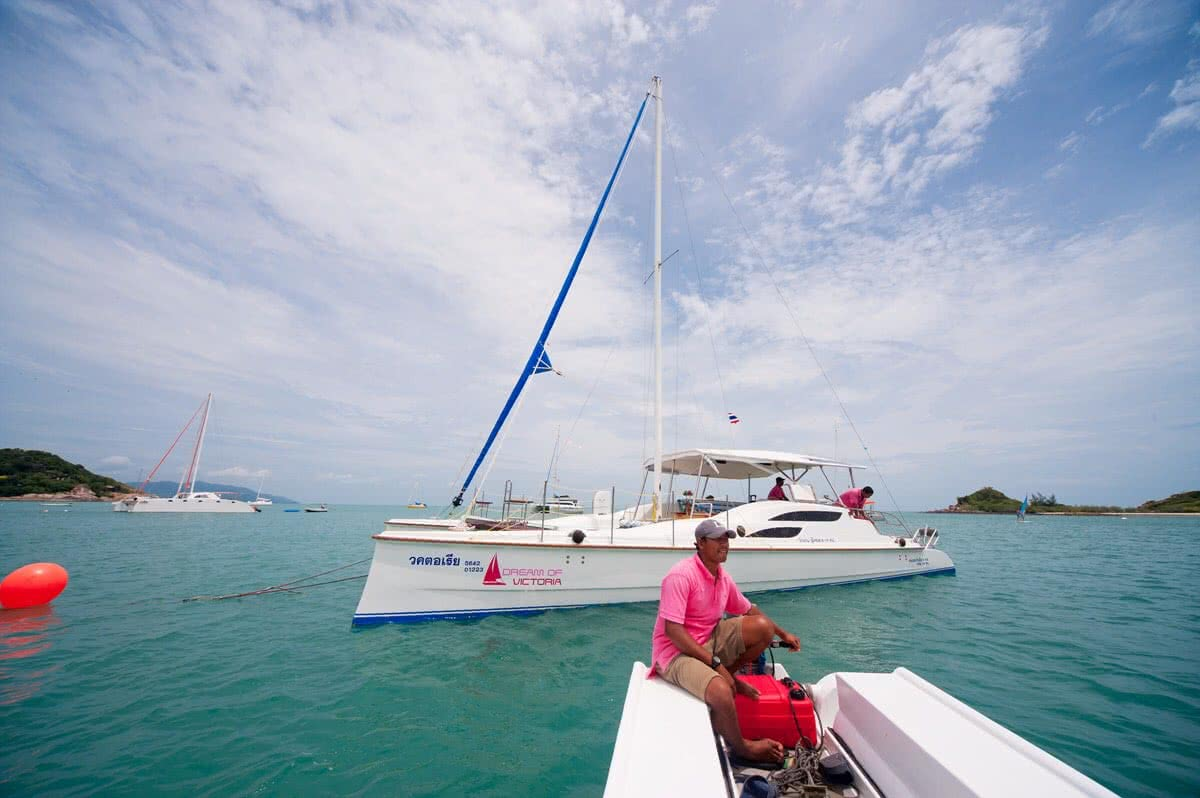 Cruises on sailing catamaran Fun Cat, Koh Samui, Thailand