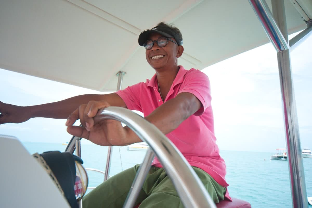 Cruises on sailing catamaran Fun Cat, Koh Samui, Thailand