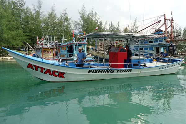Big fishing game and cruises from Koh Phangan, Koh Samui, Thailand