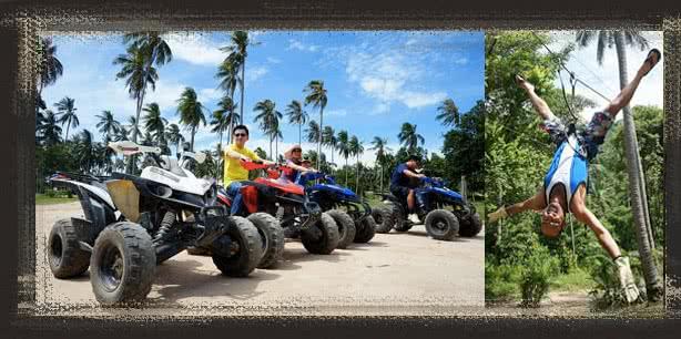Namuang 4 in 1 Adventure Trip, Koh Samui, Thailand