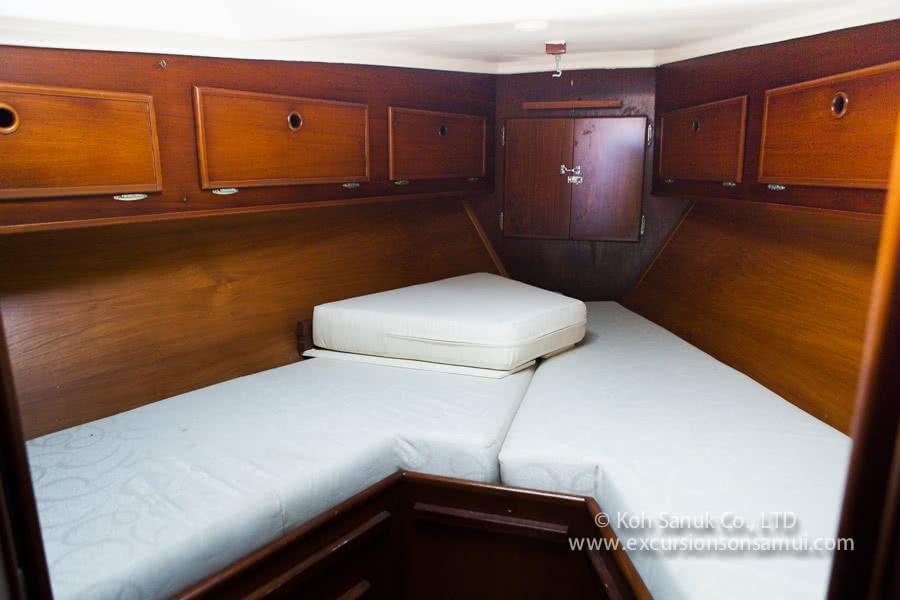 """Sailing yacht """"Geronimo"""", Koh Samui, Thailand"""