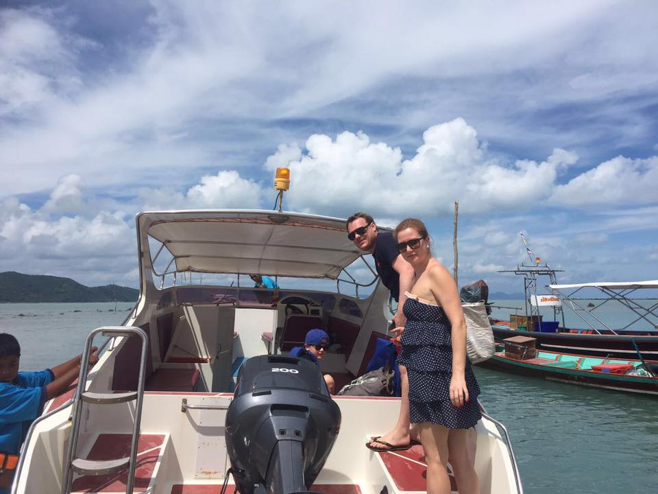 "Cruises to Koh Tan by one-engine speedboat ""Hemingway"", Koh Samui, Thailand"