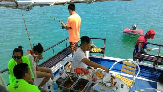"Private cruises by boat ""Chonticha"", Koh Samui, Thailand"