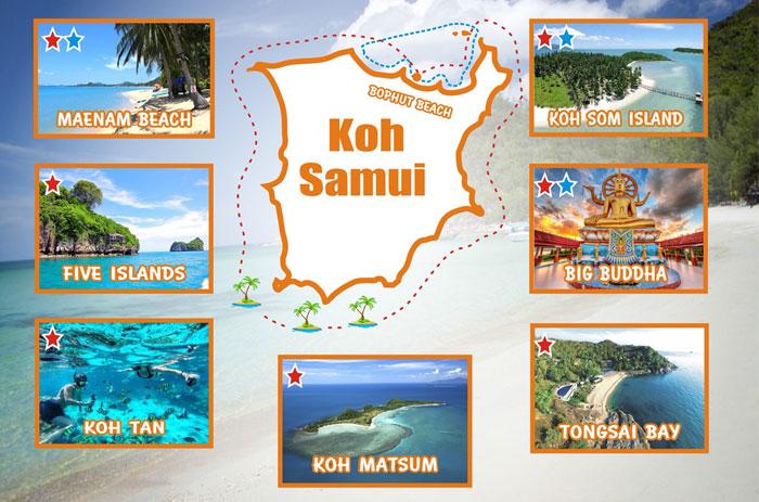 Jet ski safari from Bophut, Koh Samui