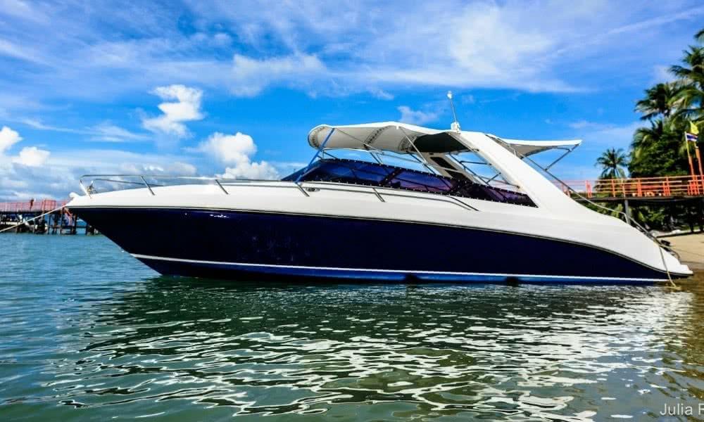 Speedboat service from Koh Samui to Koh Phangan, Koh Samui, Thailand