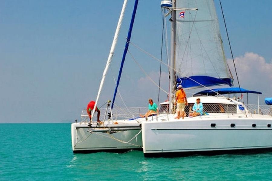 """Catamaran """"Kindred spirit"""", Koh Samui, Thailand"""