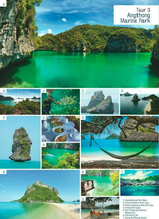 King Celio Angthong marine park tour