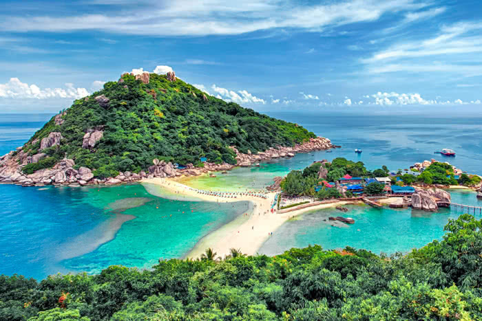 Full day speedboat tour to Koh Tao and Koh Nang Yuan from Samui and Phangan, Koh Samui, Thailand