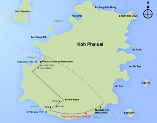 Koh Paluay, Angthong Marine Park
