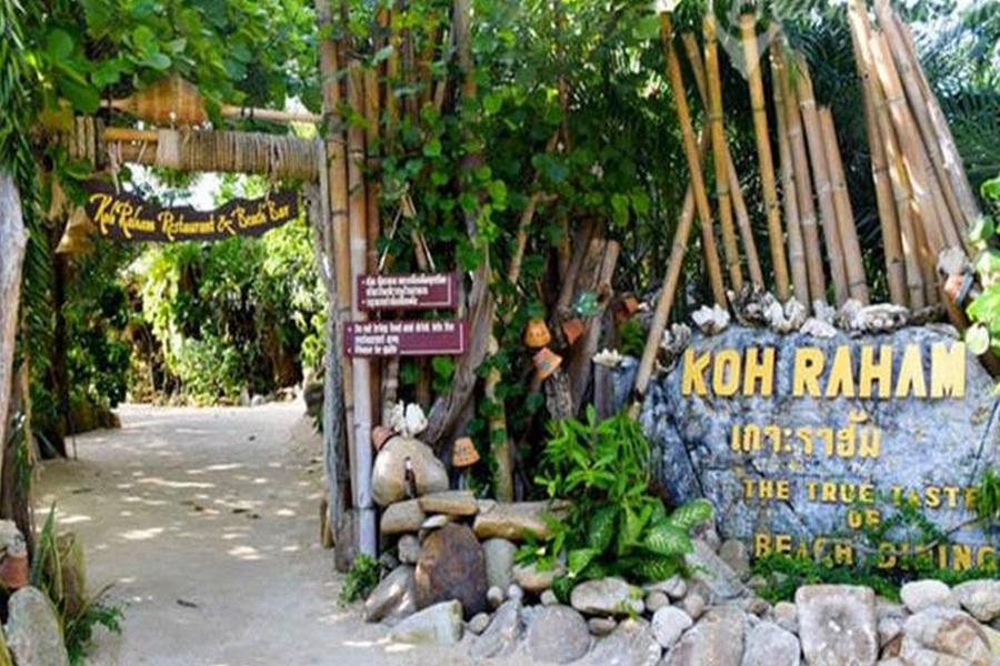 Cruise to Koh Raham, Koh Samui, Thailand