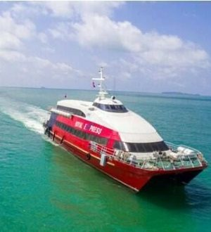 Royal Express yacht, Koh Samui