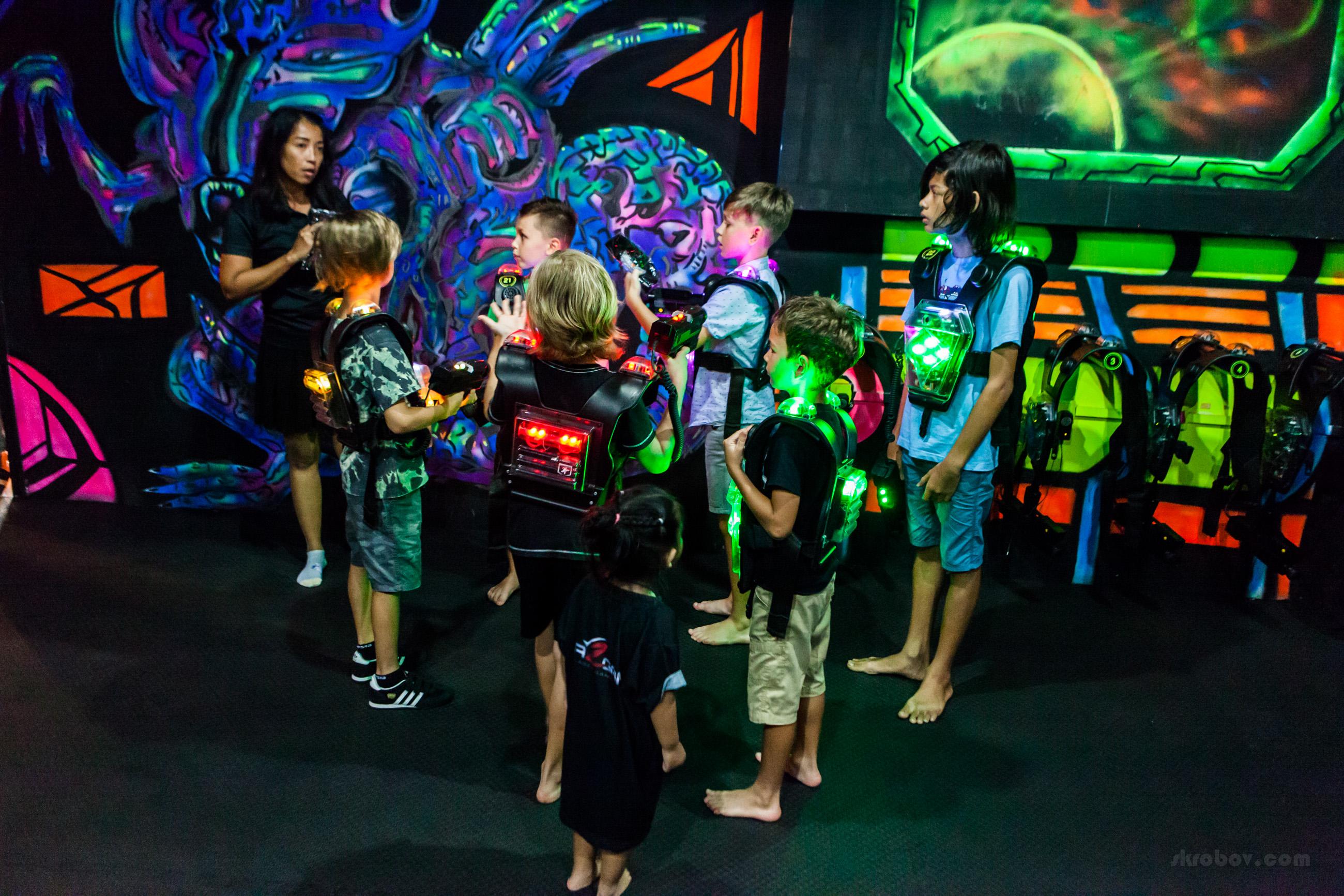Laser Games, Koh Samui, Thailand