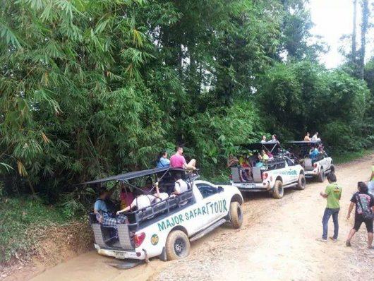 Jeep safari, Koh Samui