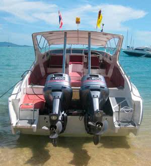 Speedboat Matthew, Koh Samui