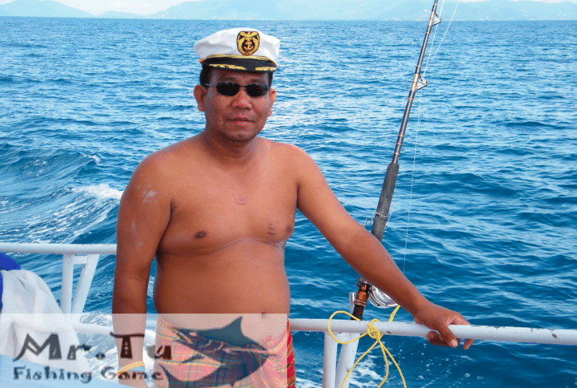 Mr. Tu fishing game, Koh Samui, Thailand