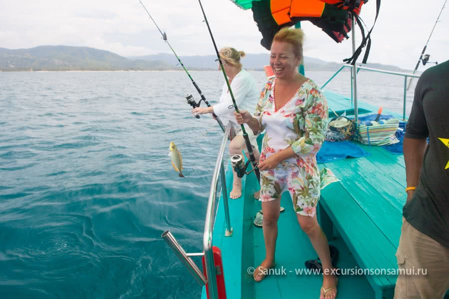 Big fishing game, Koh Samui, Thailand