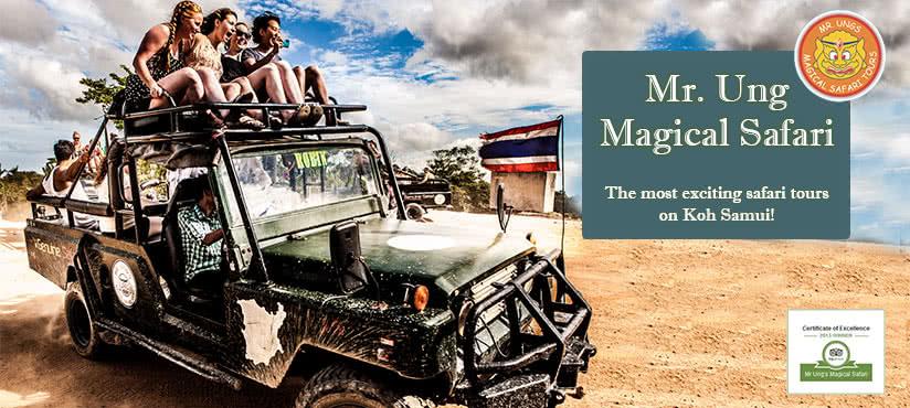 Mr Ung Safari, Koh Samui