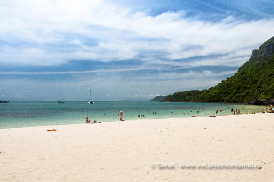"Angthong marine park day cruise by ""Naga boutique yacht"", Koh Samui, Thailand"