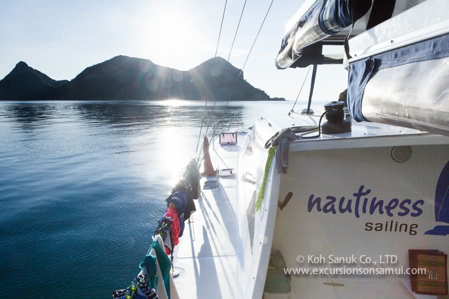 Overnight cruises from Koh Samui by catamaran Nautiness II, Koh Samui, Thailand
